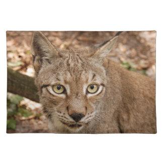 siberian lynx 032 placemat
