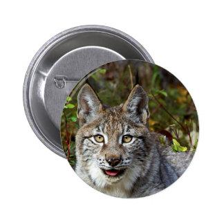 Siberian Lynx Pin