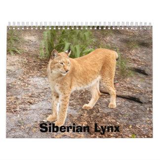 Siberian Lynx Calendar, Siberian Lynx
