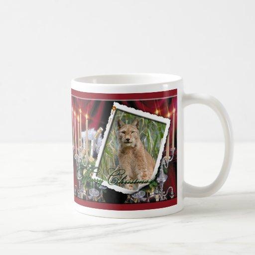 Siberian Lynx Christmas Mug