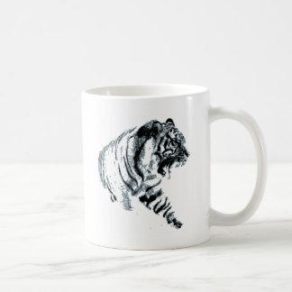 Siberian Snow Tiger Coffee Mugs