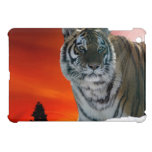 Siberian Sunset Tiger Animal-Lover Wildlife Art iPad Mini Cases