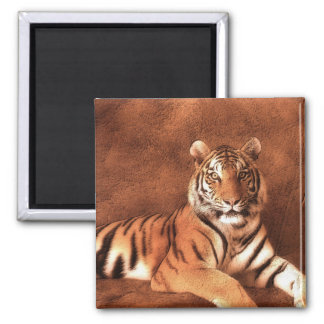 Siberian Tiger Art - Magnet