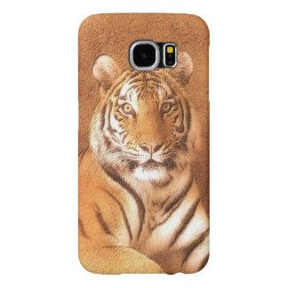 Siberian Tiger Art Portrait Samsung Galaxy S6 Case