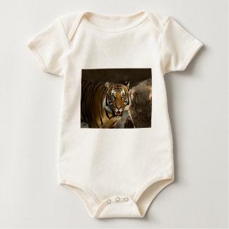 Siberian Tiger Baby Bodysuit