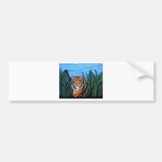 Siberian Tiger Bumper Sticker