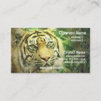 Siberian Tiger Business Card