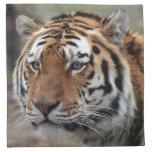 siberian tiger cloth napkin