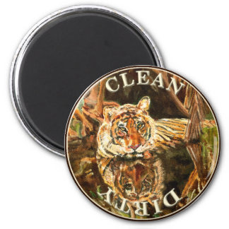 Siberian Tiger Dishwasher Magnet