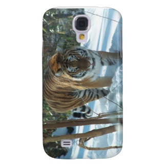 Siberian Tiger In Snow Galaxy S4 Cases