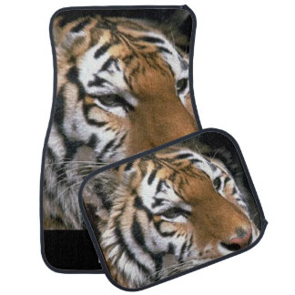 Siberian Tiger Lovers Art Car Mat