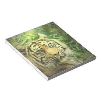 Siberian Tiger Notepad