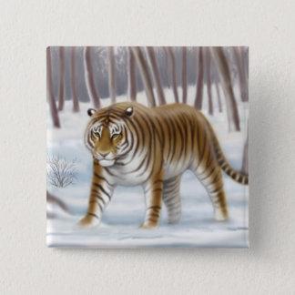 Siberian Tiger Pin