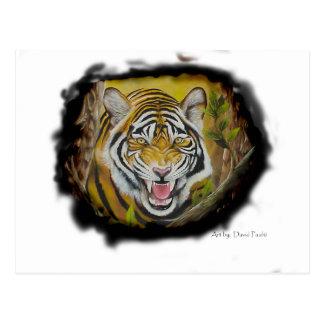 Siberian Tiger Post Card