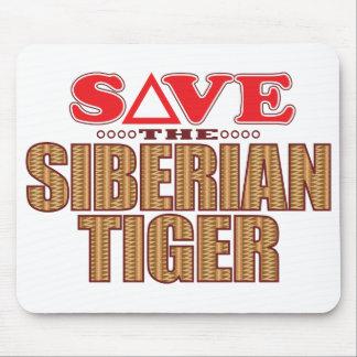 Siberian Tiger Save Mouse Pad
