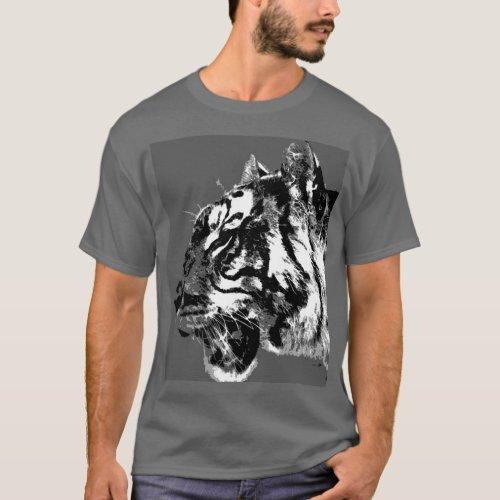 Siberian Tiger T_Shirt