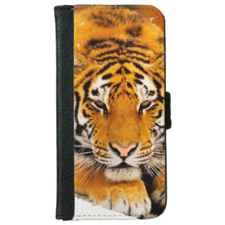Siberian Tiger Wallet Phone Case For iPhone 6/6s