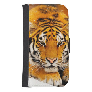Siberian Tiger Wallet Phone Case For Samsung Galaxy S4