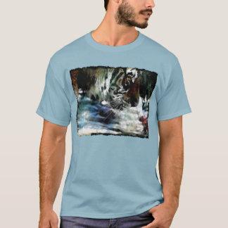Siberian Tiger Wild Animal Big Cat-Lover T-Shirt