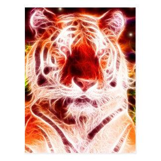 *Siberian Tiger* Wild Spirit Design Postcard