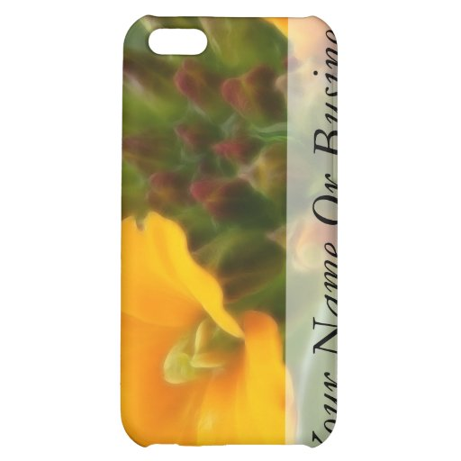 Siberian Wallflower Buds And Flower iPhone 5C Cover