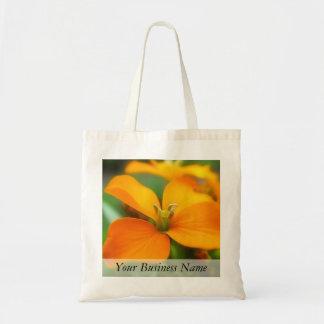 Siberian Wallflower - Cheiranthus allionii Canvas Bag