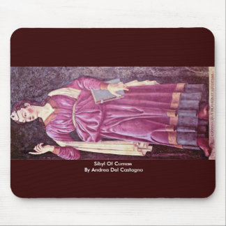 Sibila de Cumae de Andrea del Castagno Tapete De Raton