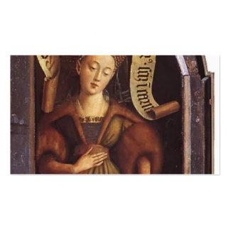 Sibila de enero van Eyck- The Cumaean Tarjetas De Visita