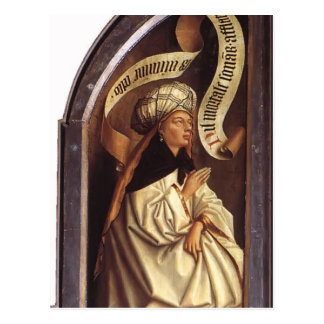 Sibila de enero van Eyck- The Erythraean Tarjeta Postal