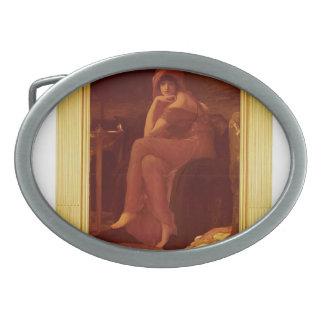 Sibila de Federico Leighton Hebillas Cinturón Ovales