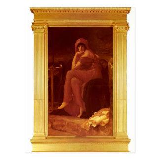 Sibila de Federico Leighton Tarjeta Postal