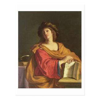 Sibila de Samian, 1644 (aceite en lona) Postales
