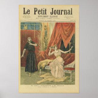 Sibila Sanderson y Monsieur Jean del Mademoiselle Póster