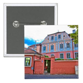 Sibiu architecture button