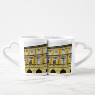 Sibiu architecture lovers mug set