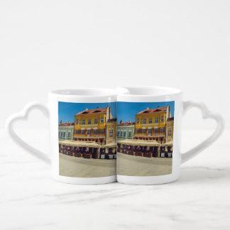 Sibiu architecture lovers mug sets