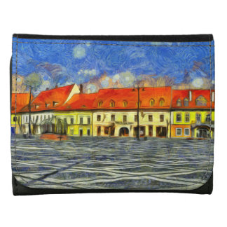 Sibiu architecture painting wallets
