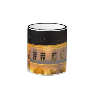 Sibiu at night architecture mug