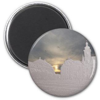Sibiu basrelief magnet