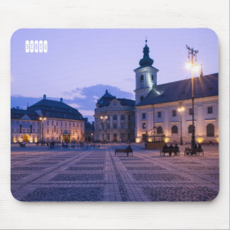 Sibiu by night mouse pad