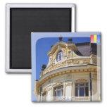 Sibiu cityhall 2 inch square magnet