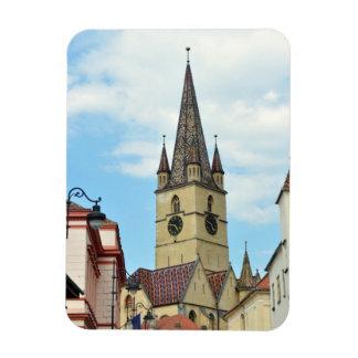 sibiu evangelical church romania architecture rectangular magnets