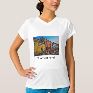 Sibiu hdr architecture tee shirt