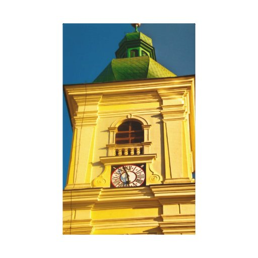 Sibiu tower stretched canvas prints