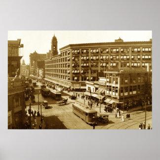 Sibley que construye 1912 póster