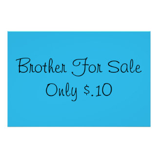 Sibling for Sale Poster