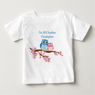 Sibling Owls Big Brother Infant T-Shirt