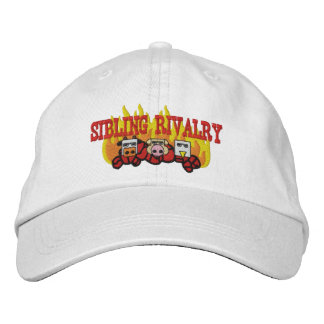 Sibling Rivalry Adjustable Cap Embroidered Hat