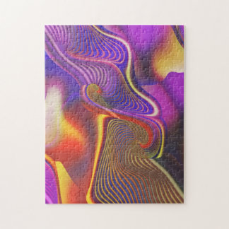 Sibling Rivalry Gnarly Fractal Jigsaw Puzzle