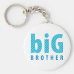 SIBLINGS COLLECTION - big brother {blue} Keychain